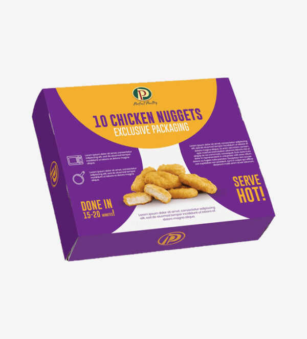 Wholesale Nugget Packaging Boxes