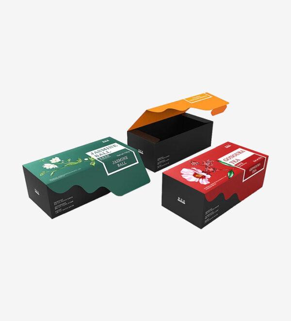 Custom Printed Tea Boxes Wholesale