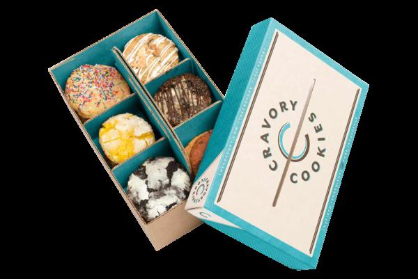 Custom printed cookie boxes wholesale