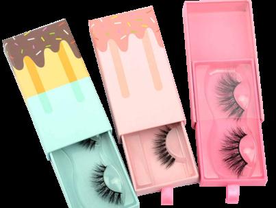 eyelashes packaging wholesale