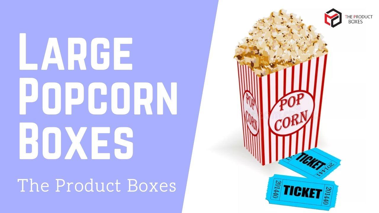 large popcorn boxes