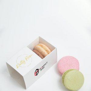 custom macaron slider boxes